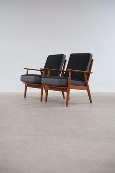 The Modern Warehouse - Furniture - Danish Teak Lounge Chairs