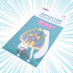 Hatsune Miku: Chibi Safety Reflector / Key Chain Kaito, Hatsune Miku, Amaterasu, Soft Plastic, Mega Man, Pink Glitter, Key Chain, Cherry Blossom, Latest Fashion