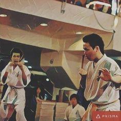 "Done by Prisma app ""Kyokushin Karate Kumite@JVO'08""  #memorabilia #kyokushin #karate #kumite #prismapp #prisma"