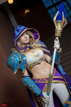 Warcraft III: Meet miss Jaina Proudmoore by Narga-Lifestream on deviantART
