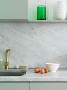 {two lovely things : carerra marble} by {this is glamorous}, via Flickr