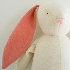 DIY Bunny Softie - FREE Sewing Pattern and Tutorial