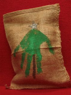 Christmas bag keepsake for parents and grandparents