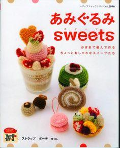 Revista doces em crochê   Gráficos e Receitas