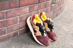 """PUMA MMQ LEATHER DISC CAGE """"CORK"""" PACK"""