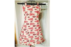 San Francisco 49ers Full Ladies Apron by SpicyAprons on Etsy