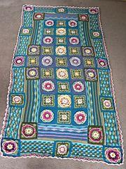 Ravelry: singerdj's BIG Lily Pond Blanket