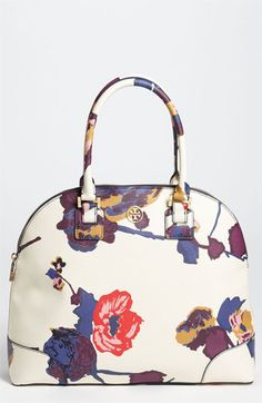Need this in a very serious way. Tory Burch 'Robinson - Large' Dome Satchel | Nordstrom