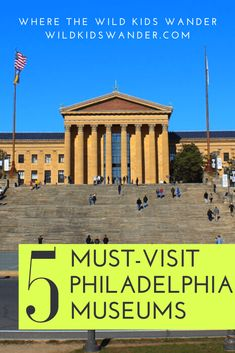 5 Awesome Museums in Philadelphia to Visit with Kids - Where the Wild Kids Wande. - 5 Awesome Museums in Philadelphia to Visit with Kids – Where the Wild Kids Wander – A Family Tr - Visit Philadelphia, Philadelphia Museums, Usa Places To Visit, Places To Travel, Travel Things, Travel With Kids, Family Travel, Weekend Getaways With Kids, Harbor Park
