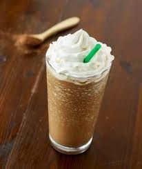 Mocha Frappuccino Recipe - I made Iced Mocha Coffee by using 2 packs sweet and Low instead of sugar, 1 cup regular milk  -  (use what you choose), 1/2 cup coffee mate sweet Italian Cream creamer, 1 cup Coffee, Hershey's Special Dark Chocolate Syrup (to your taste) add ice cubes, stir and top off with Reddi Whip and more chocolate syrup. Enjoy!