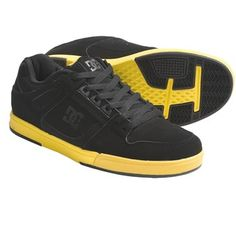 DC Shoes aye got them black and yellow shoes