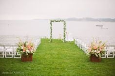 Wequassett Wedding by Rebecca Arthurs