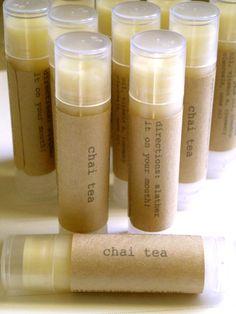 Stocking Stuffers: Vegan Chai Chapstick