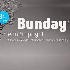 Bunday Clean Tipografía