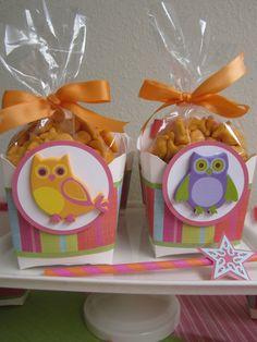 Owl Birthday Party Set Girls Pink Birthday Party by ByAdalynn