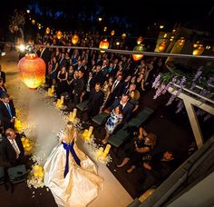 it's the Blue Bayou! She got married INSIDE Pirates of the Caribbean!!  I didn't even know this was an option