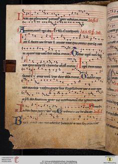 Antiphonarium Cisterciense Salem, um 1200 Cod. Sal. X,6b  Folio 119v