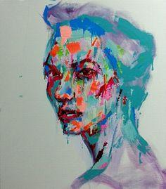 an ordinary person 26, acrylic on canvas, 53.0cm x 45.5, 2013