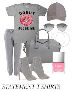 """""""Untitled #121"""" by candicegeorge on Polyvore featuring Moschino, Givenchy, Gianvito Rossi, TOMS and Allison Bryan"""