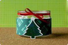 Kit Faça Você Mesmo de Natal - Vidrinho para velas personalizado - DIY - Tuty - Arte & Mimos www.tuty.com.br