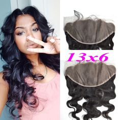 79.04$  Buy now - http://aliwzy.worldwells.pw/go.php?t=1000001127015 - 7A cheap body wave Peruvian Ear To Ear lace frontal closure 13x6 with DHL free ship No Tangle No Shed Free/Middle/3 Part Closure 79.04$