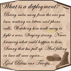 deployment . . .