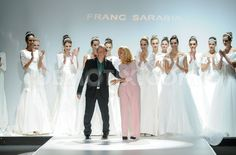 Barcelona Bridal Week 2014 Franc Sarabia collection 2015
