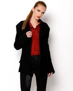 Jean Paul Gaultier Femme Wool Coat- Made in Italy  JeanWomen #Outerwear