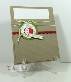 Perfectly Preserved Pocket Card Stampin' Up