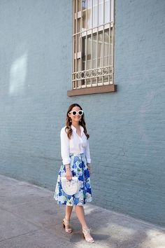 Blue Wall Greenwich Village