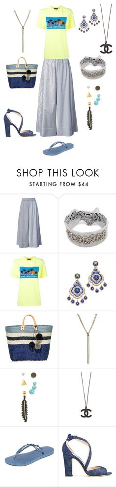 """Saturday for shopping"" by emmamegan-5678 ❤ liked on Polyvore featuring TIBI, Rendor & Steel, Alexander Wang, Miguel Ases, Mar y Sol, Nina Ricci, Rebecca Minkoff, Havaianas and Jimmy Choo"
