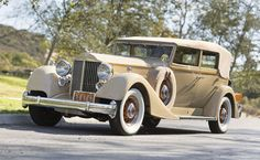 1934 Packard Twelve Convertible Sedan