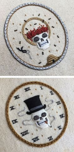 Grand Sewing Embroidery Designs At Home Ideas. Beauteous Finished Sewing Embroidery Designs At Home Ideas. Hand Work Embroidery, Paper Embroidery, Learn Embroidery, Hand Embroidery Stitches, Hand Embroidery Designs, Cross Stitch Embroidery, Embroidery Ideas, Hand Stitching, Geometric Embroidery