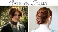 Game of Thrones Hair Tutorial - Catelyn Tully