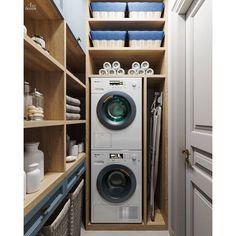 Misto na susak Police Pantry Laundry Room, Laundry Room Layouts, Small Laundry Rooms, Laundry Room Storage, Laundry Room Design, Small Toilet Room, Laundry Room Inspiration, Modern Tiny House, Room Closet