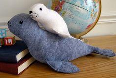 Digital Slippy And Slide Seals Sewing Pattern | Shop | Oliver + S