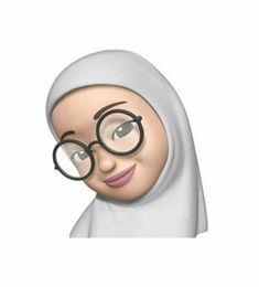 Emoji Wallpaper Iphone, Cute Wallpaper Backgrounds, Cartoon Wallpaper, Cute Wallpapers, Cartoon Drawings, Cartoon Art, Hijab Drawing, Girl Emoji, Islamic Cartoon