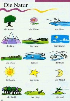 German Lesson-Die Natur