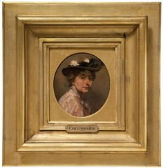 Columbano Bordalo Pinheiro, Retrato de mulher (Emília Bordalo Pinheiro)