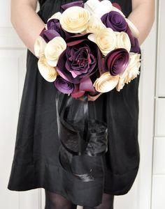 Paper Flower bouquet @Jenn L Milsaps Griffith-White Matt White
