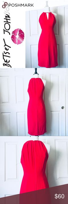 New Betsey Johnson Red Dress Size 6 New Betsey Johnson Red Dress Size 6. NO TAGS Betsey Johnson Dresses