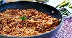 Pullled Pork Spaghetti