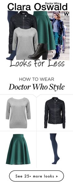 """Doctor Who - Looks for Less"" by wearwhatyouwatch on Polyvore featuring Coleman, Chicwish, Kate Spade, Jacqueline De Yong, M&Co, Charlotte Russe, television and wearwhatyouwatch"