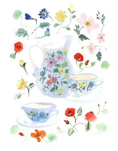 """Lucile's kitchen """"Tea for two"""""""