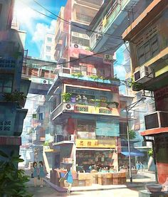 Wunderbare Cityscapes von Chong Fei Giap | KlonBlog