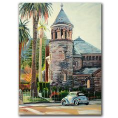 Chappel by Colleen Proppe Painting Print on Canvas