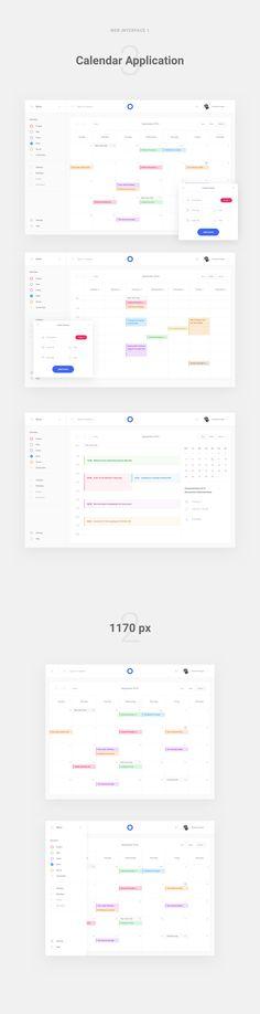 Calendar application