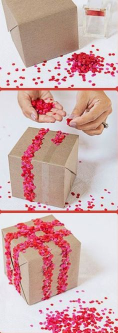 Ihr wollt das Geschenk für eure Liebsten besonders, mal anders verpacken? Einfach, weil sie es verdient haben? Dann seid ihr hier genau richtig.