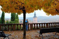 Baden-Baden Germany in fall