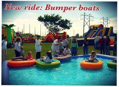 New ride at Victorian Gardens! Bumper Boats